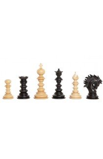 """The Forever Collection - The Savano Series Luxury Wood Chess Pieces - 4.4"""" King"""