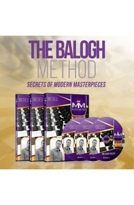 E-DVD - MASTER METHOD - The Balogh Method - GM Csaba Balogh - Over 15 hours of Content!