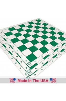 """Standard Paper Tournament Chess Board - 2.25"""" Squares"""