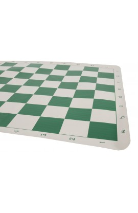 "Regulation Vinyl Tournament Chess Board - 2.25"" Squares - ROUNDED CORNERS"
