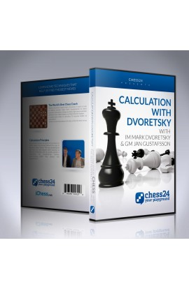 E-DVD Calculation with Dvoretsky – IM Mark Dvoretsky and GM Jan Gustafsson