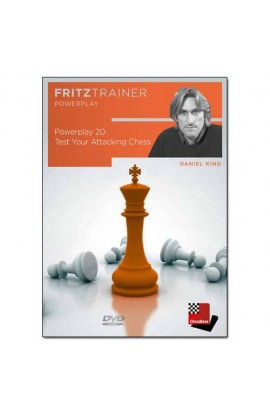 POWER PLAY  - Test Your Attacking Chess - Daniel King  - VOLUME 20