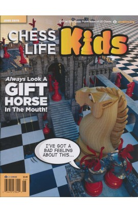 CLEARANCE - Chess Life For Kids Magazine - June 2016 Issue