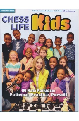 CLEARANCE - Chess Life For Kids Magazine - February 2018 Issue