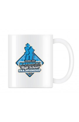 2020 National High School Chess Championship Commemorative Coffee Cup