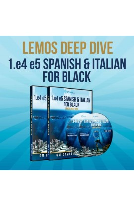 Lemos Deep Dive - #18 - 1. e4 e5 Spanish & Italian For Black - GM Damian Lemos - Over 7 Hours of Content!
