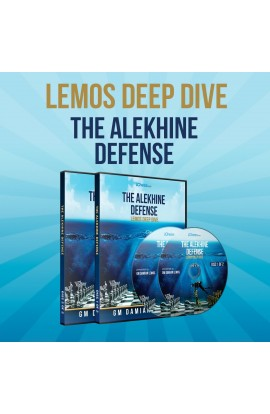 Lemos Deep Dive - #19 - The Alekhine Defense - GM Damian Lemos - 2 DVDs