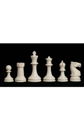 """The Zurich Series Plastic Chess Pieces - 3.875"""" King"""