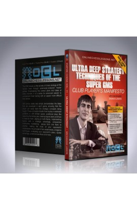 E-DVD - Ultra Deep Strategy Techniques of the Super GMs - EMPIRE CHESS