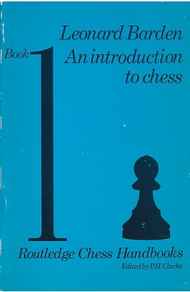 CLEARANCE - An Introduction to Chess - Volume 1