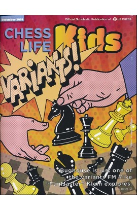 CLEARANCE - Chess Life For Kids Magazine - December 2018 Issue