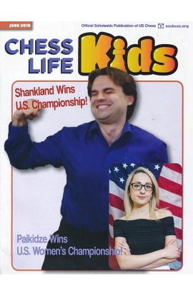CLEARANCE - Chess Life For Kids Magazine - June 2018 Issue