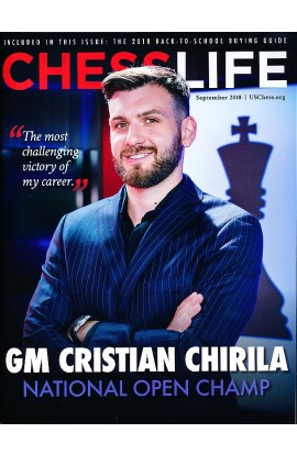 CLEARANCE - Chess Life Magazine - September 2018 Issue