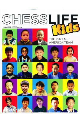 Chess Life For Kids Magazine - August 2021 Issue