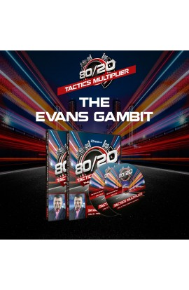 80/20 Tactics Multiplier - The Evan's Gambit - GM Marian Petrov - Volume 10