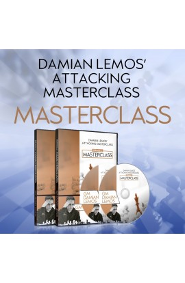 MASTERCLASS - Damian Lemos' Attacking Masterclass - GM Damian Lemos - Over 10 hours of Content!