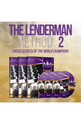 E-DVD - MASTER METHOD - The Lenderman Method II - GM Alex Lenderman - Over 15 hours of Content!