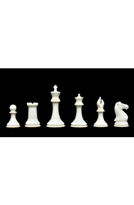 """The Collector Series Plastic Chess Pieces - 4.0"""" King"""