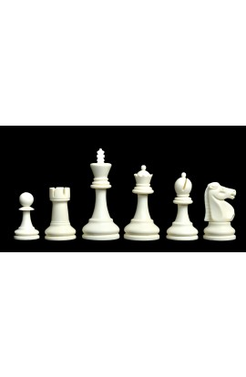 """The Reykjavik Series Plastic Chess Pieces - 3.75"""" King"""
