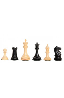 "The Camaratta Collection - The 1885 Lasker Series Chess Pieces - 4.0"" King"