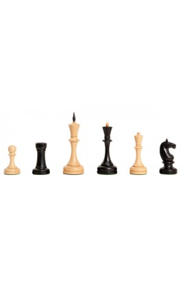"""The Camaratta Collection - The Moscow 1935 Series Chess Pieces - 5.0"""" King"""