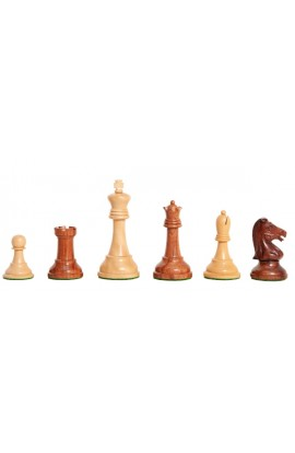 """The Exotique Collection® - Reproduction of the Drueke Players Choice Chess Pieces - 3.75"""" King - With Natural Boxwood"""