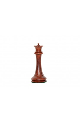 """The Imperial Collector Paperweight - Indian Rosewood - QUEEN - 6"""" Tall"""