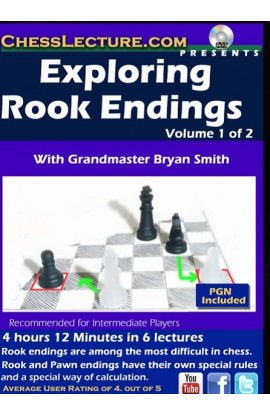 Exploring Rook Endgames - Chess Lecture - Volume 160 - 2 DVDs