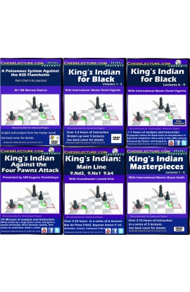 The Definitive King's Indian Defense Collection - 6 DVDs - Chess Lecture