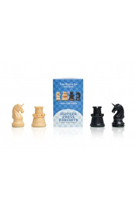 Fortress and Unicorn - Musketeer Chess Variant Kit - 4 Set